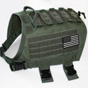 Force K9 MOLLE TACVest: Tactical Sport